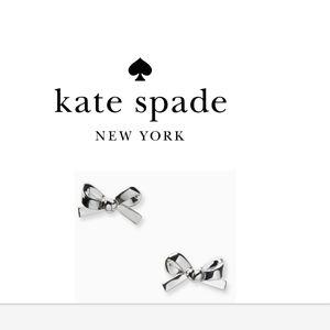 Kate Spade mini bow earrings  NWT